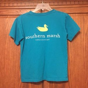 Southern Marsh Tee   Size Youth Large   Teal